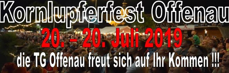Kornlupferfest Offenau 2019