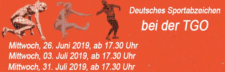 Deutsches Sportabzeichen bei der TGO