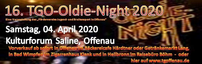 16. TGO-Oldie-Night 2020